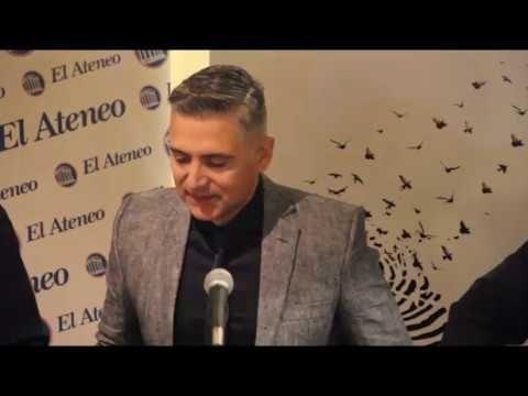 """Presentación del libro """"Quién soy"""" de Hugo Macchiavelli"""