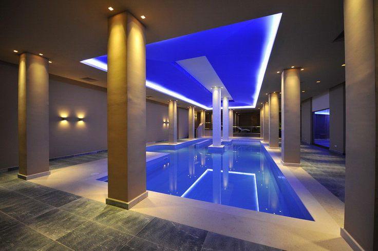 Spa interior claddings with Vratsa stone & verde india
