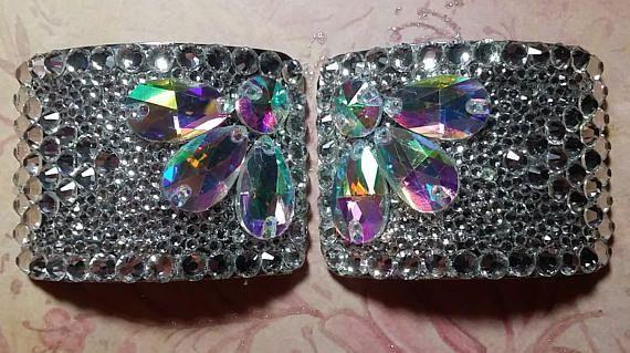 Irish Dance Hard Shoe Buckle Crystal & AB Rhinestones