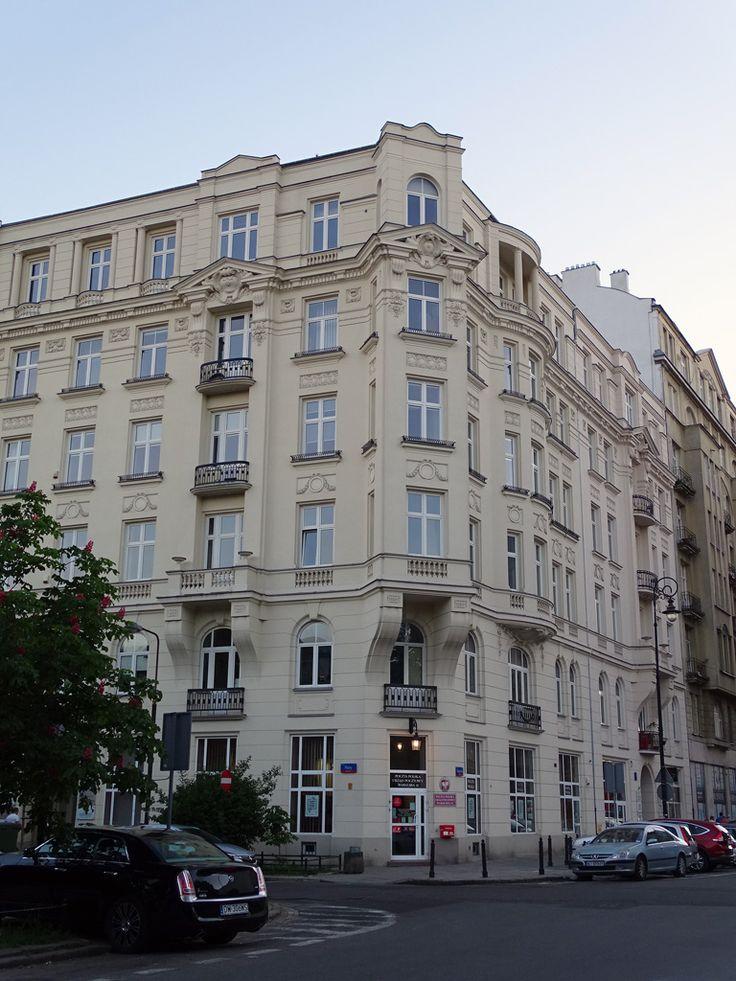 Warszawa, Bagatela 9-11 (1912, arch. Leon Wolski), fot. PK