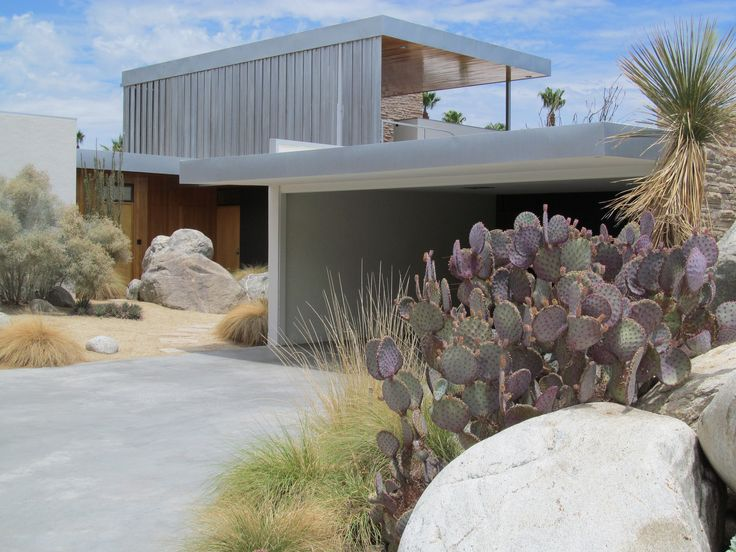 https://flic.kr/p/cr8rTW | Richard Neutra | Kaufmann House, 1946. 470 W. Vista Chino, Palm Springs