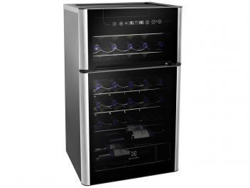 Adega Climatizada Electrolux 29 Garrafas ACD29 - com Compressor e Painel Touch Control