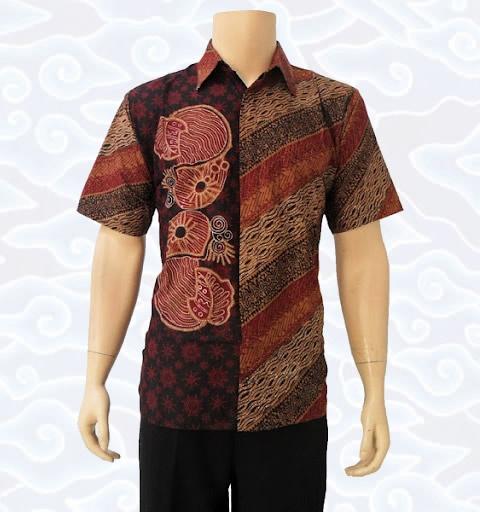 baju batik tulis pria