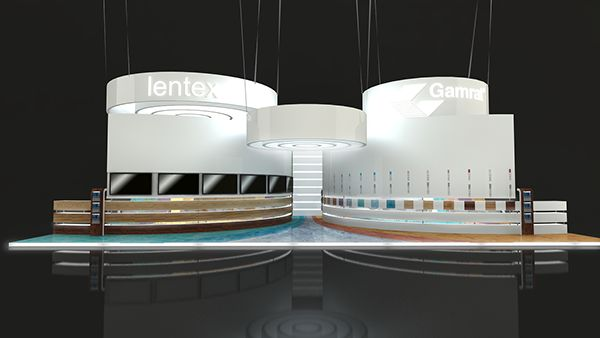 stand design Gamrat by justyna podczasi, via Behance