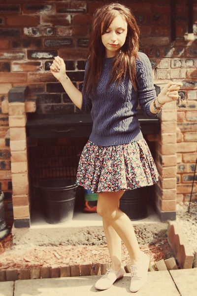 Jack Wills sweater and skirt... So CUTEEEE!