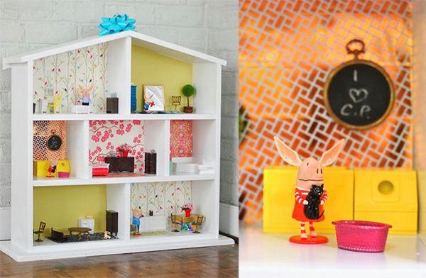 puppenhaus selber bauen geschenke pinterest basteln. Black Bedroom Furniture Sets. Home Design Ideas
