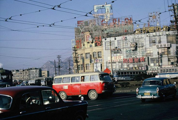 1966년 서울역 건너 풍경, Seoul station in1966