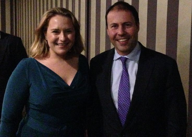 Quantum Adviser Claire Mackay met with Assistant Treasurer, Josh Frydenberg, to discuss the future of the financial services industry.