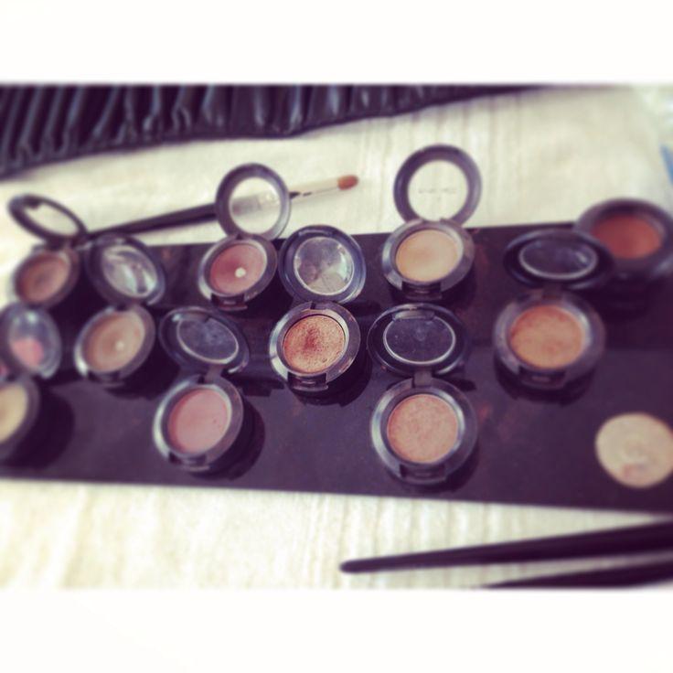 Mac macpro makeup eyes shadows