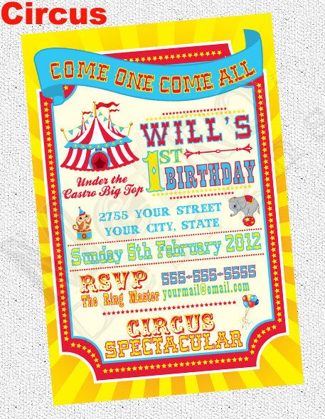 40 best invitations images on pinterest | birthday party ideas, Birthday invitations