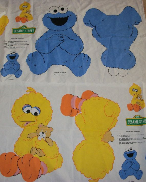 97 best images about cookie monster on pinterest for Baby monster fabric