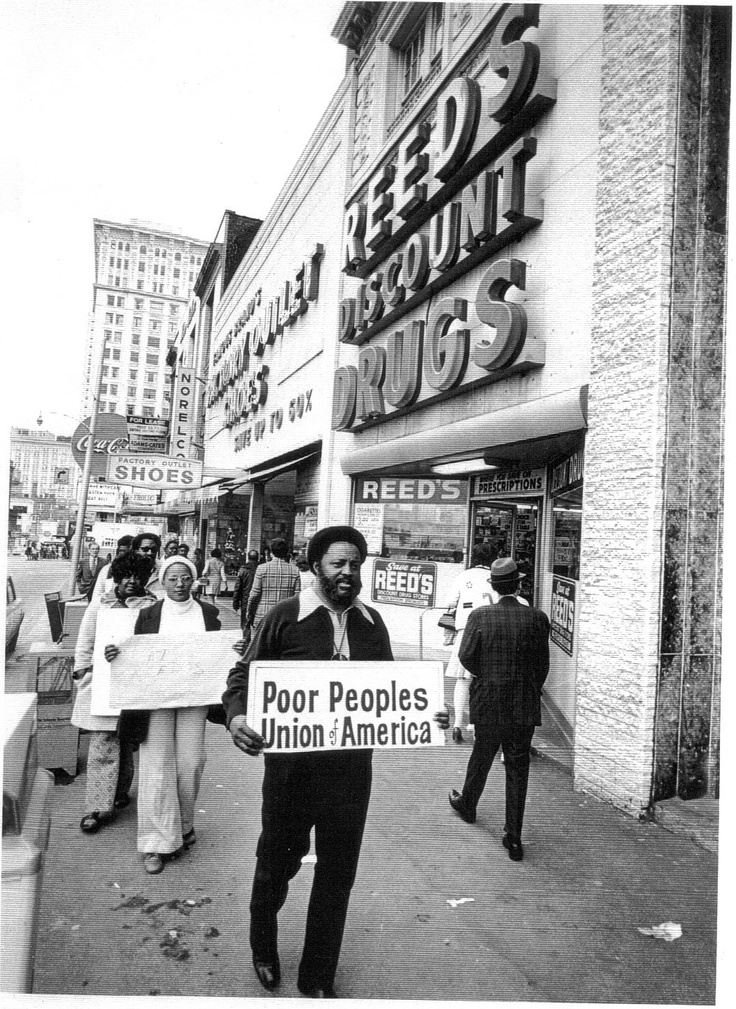 Hosea Williams founded the Poor People's Union of America in 1972 in Atlanta, Georgia, while serving as the executive director of the DeKalb/Metro-Atlanta branch of the Southern Christian Leadership Conference. The Poor People's Union was established with the intent to organize Atlanta's working poor by negotiating grievances and securing job stability, pensions, and health care benefits.