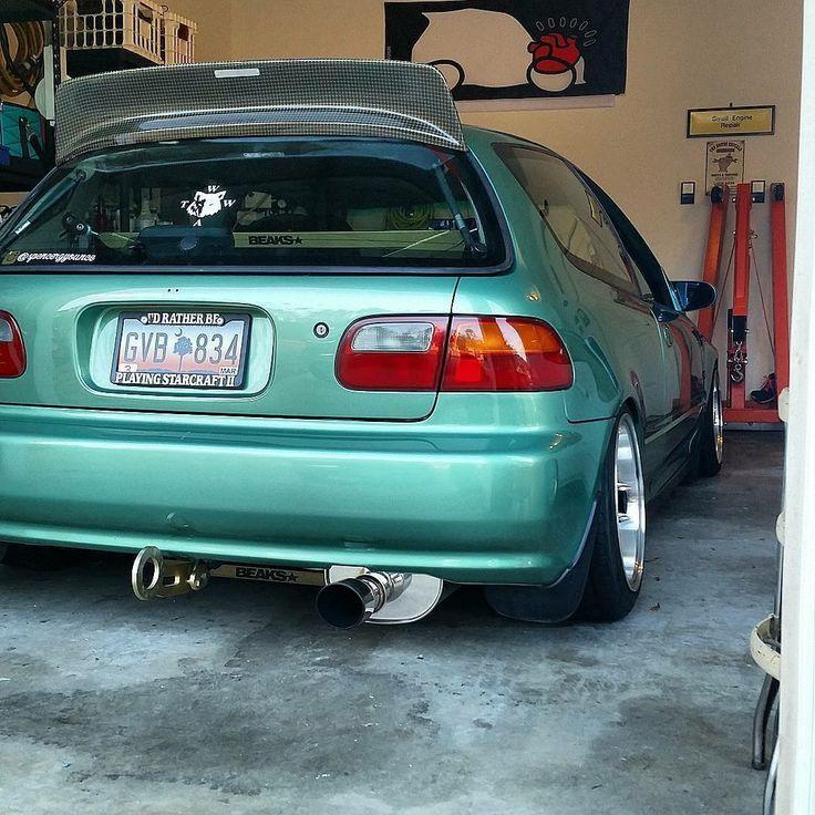 #Honda #Civic #eg #Slammed #Stance #Camber #Modified