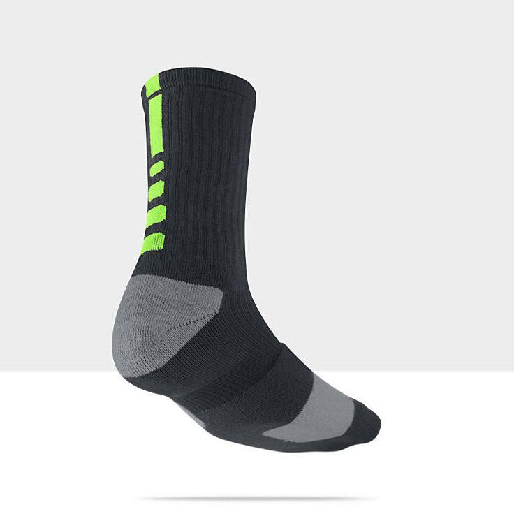 Nike Elite Crew Basketball Socks (Large/1 Pair) $14