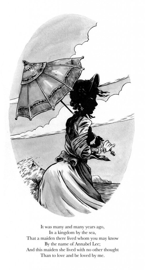 Robot 666 | Greg Hinkle illustrates Edgar Allan Poe's Annabel Lee   - Robot 6 @ Comic Book Resources