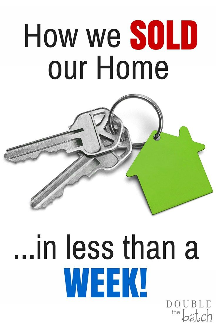 I DID NOT want my home to be on the market forever, especially with 4 kids! After following this advice, our home sold in 4 days!