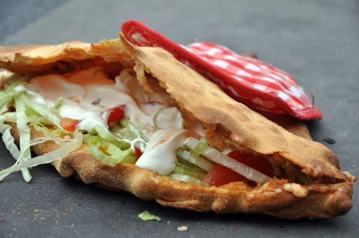Fantastisk hjemmelavet Pizza sandwich, Italien,Andet, Frokost, Pizza, opskrift