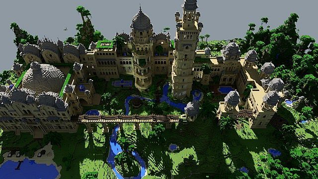 Shaders castle palace map for minecraft 1 4 7 9minecraft