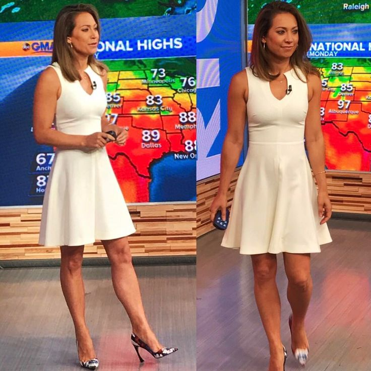 """464 Likes, 17 Comments - @jls_style on Instagram: """"@ginger_zee wears @likelynyc ✨ Jewels by @gabrielandco and heels by @dior #GingerZee #LikelyNyc…"""""""