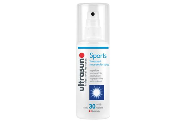 Water-resistant and transparent, the new Ultrasun Sports Spray SPF30 is perfect for those who enjoy an active outdoor lifestyle!
