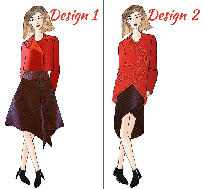 Vote for My BConnected Conference Outfit www.duellingdesigns.com Fashion Design Challenge