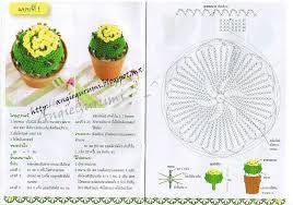 Hasil gambar untuk patrones de cactus al crochet
