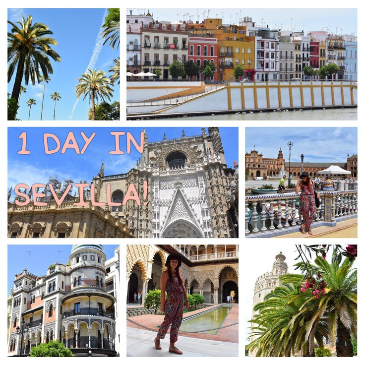 Only one day in Sevilla? No worries, still possible to see a lot! Come and check my blog how to do it and what you can't skip!