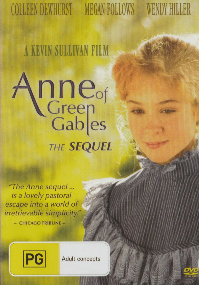 ANNE OF GREEN GABLES - THE SEQUEL DVD - NEW & SEALED