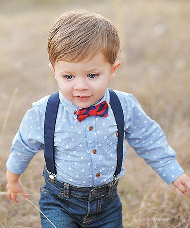 Navy Little Man Elastic Suspenders Zulily Zulilyfinds