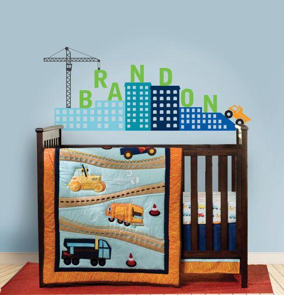 Top 30 ideas about luke 39 s big boy room on pinterest for Boys construction bedroom ideas