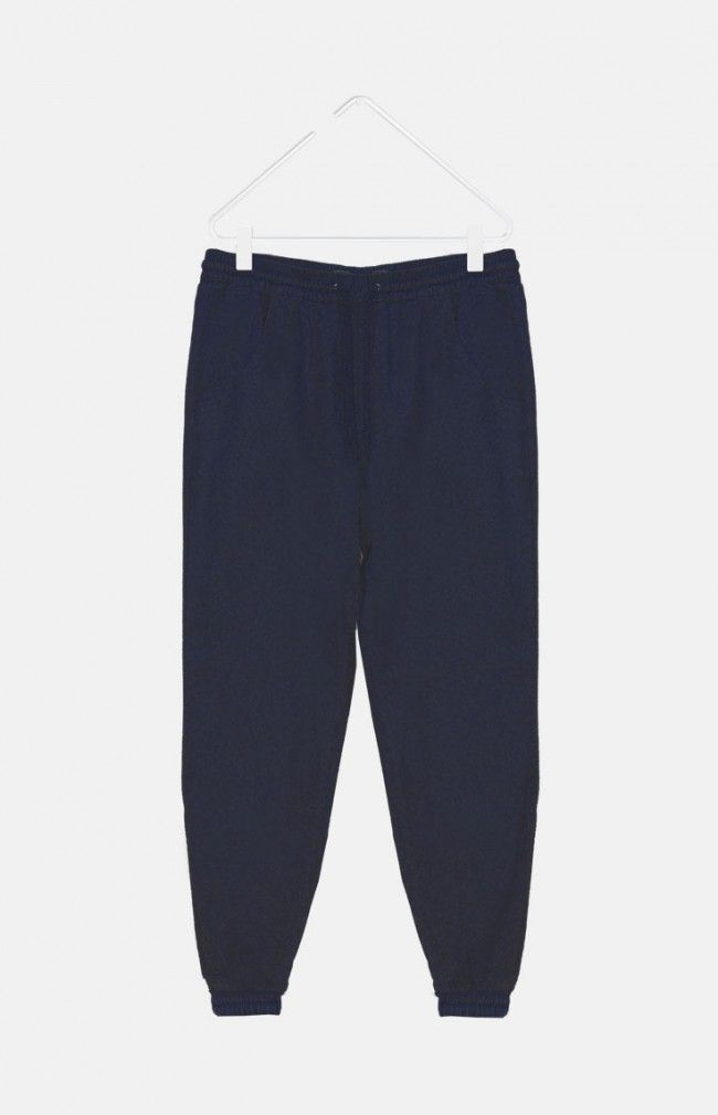 TUBBY from WeMoto are a regular fit, sportswear inspired trousers featuring an adjustable drawstring waist band with cuffed ankle.