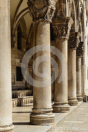 Gothic Stone Pillars By Brandon Bourdages Via Dreamstime