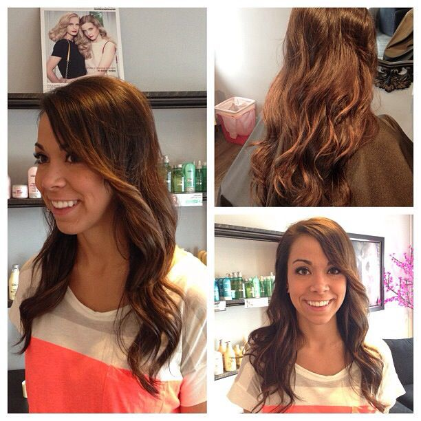 Styled for a night on the town! www.dollhousehair.ca