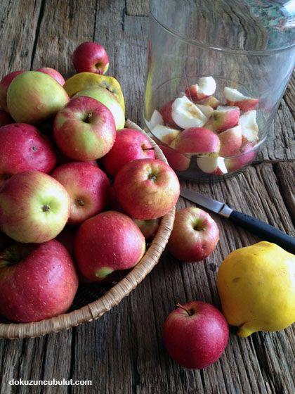Ev yapımı elma sirkesi