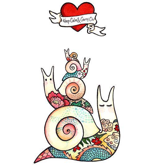 joojoo: watercolor illustrations