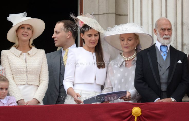 WhatKateWore.com (@WhatKateWore) on Twitter: Lyla Gilman (daughter of Lady Rose Gilman), Lady Gabriella Windsor, Lord and Lady Frederick Windsor, Princess and Prince Michael of Kent