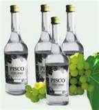 06 - El Pisco es el más criollo licor de uva, sin lugar a dudas, el representante oficial del Perú, es vehículo de identidad gastronómica peruana en el ámbito internacional. El Pisco es la bebida de bandera nacional...
