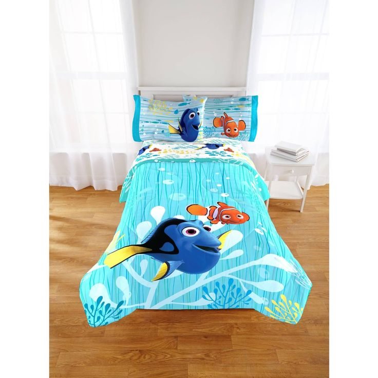 finding dory nemo bedding bedroom decor
