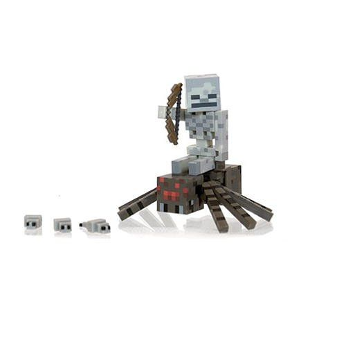 Minecraft Spider Jockey Set @ niftywarehouse.com #NiftyWarehouse #Minecraft #Geek #Gaming #VideoGames