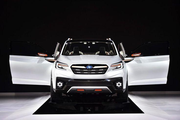 2018 Subaru 3-row crossover SUV Release Date and Price