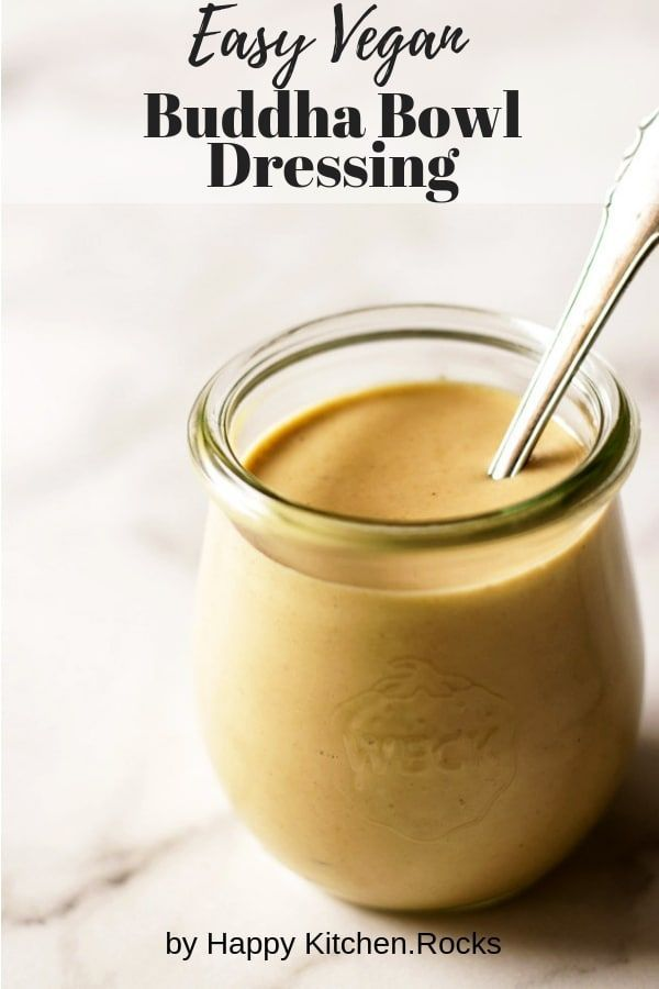 This vegan tahini dressing is the sauce you've been waiting for to drizzle ove…