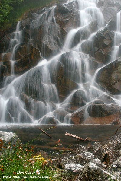 Waterfall, North Cascades National Park, Washington