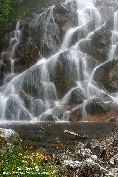 Waterfall, North Cascades National Park, Washington