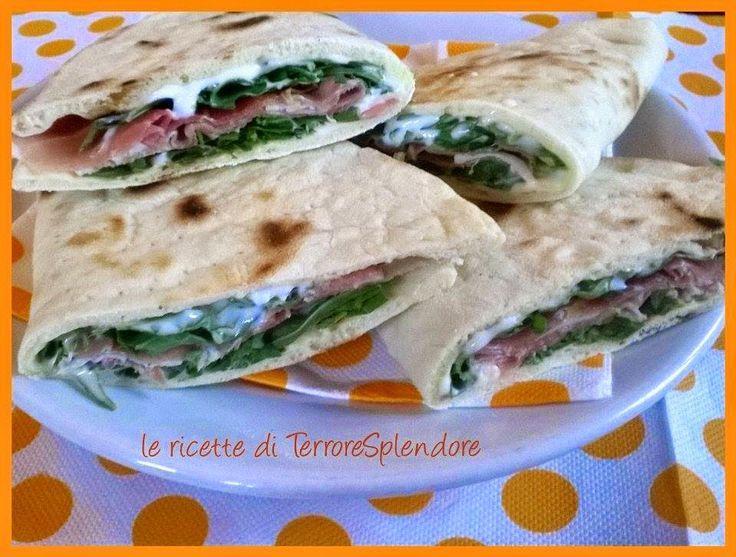 Le ricette di TerroreSplendore: Piadine all'olio extravergine di oliva
