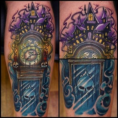1000+ ideas about Grandfather Clock Tattoo on Pinterest   Time ...