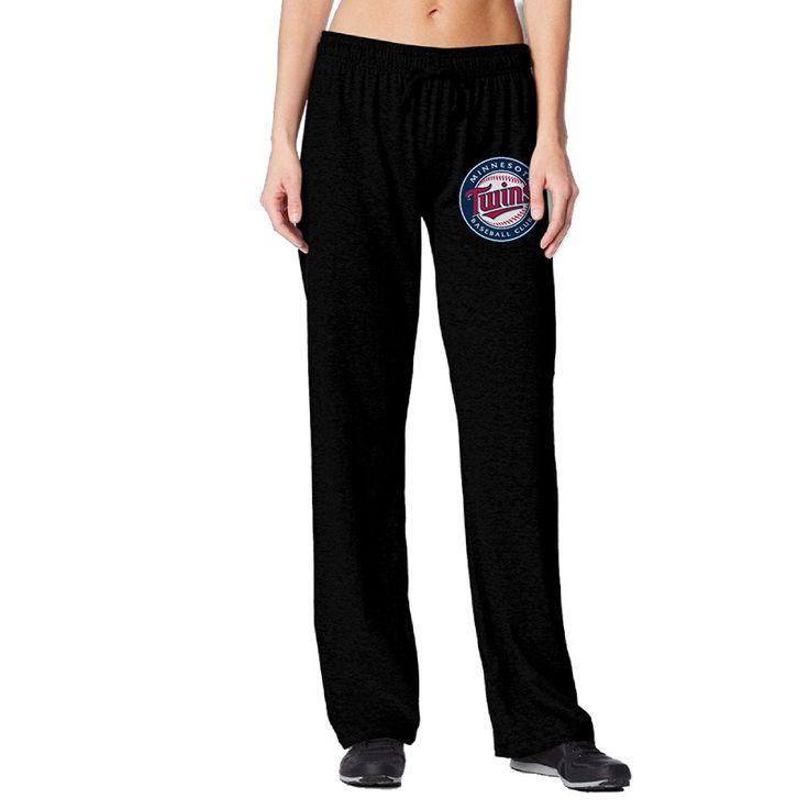 Vinda Women's Running Pants Minnesota Baseball Team Black * Check this awesome image  : Gift for Guys