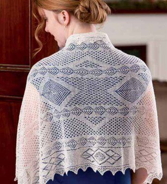 Wrapped in Lace - New Zealand Tribute to Orenburg - Media - Knitting Daily