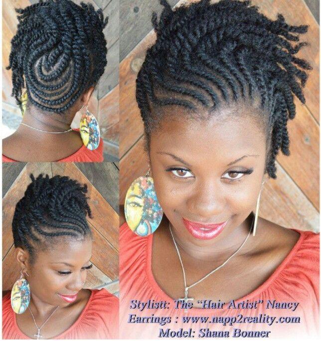 Protective Updo #Natural Hair