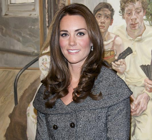 Sales of pale jeans have rocketed 40% since Kate wore them!