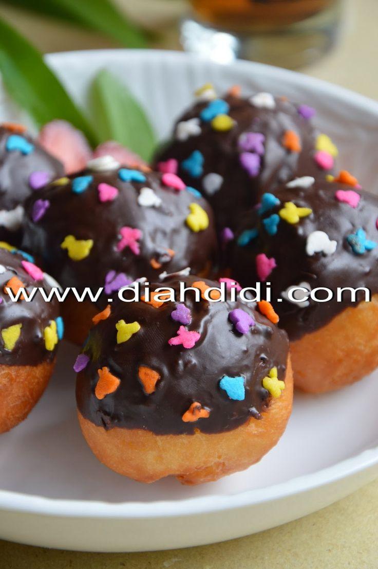 Diah Didi's Kitchen: Resep Donat Mudah, Enak, Praktis dan Nggak Perlu ...